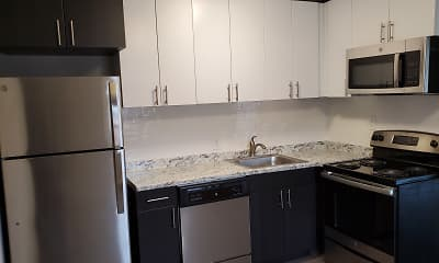 Kitchen, Sunset Heights, 1