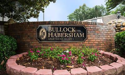 Community Signage, Bullock Habersham Apartments, 1