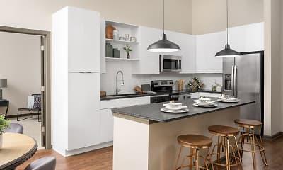 Kitchen, Santos Flats Apartment Homes, 0