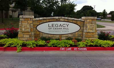 Community Signage, Legacy Of Cedar Hill, 0