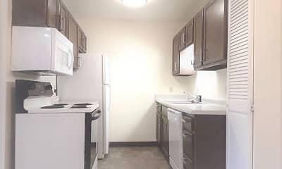 Kitchen, Elkhorn Village Apts, 1