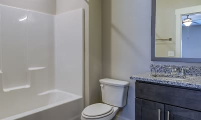 Bathroom, McHenry Square Apartments, 2