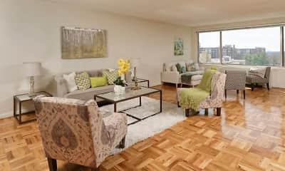 Living Room, 4000 Massachusetts Ave., 1