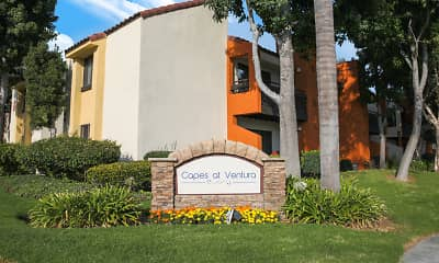 Community Signage, Capes at Ventura, 1