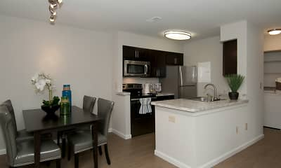 Kitchen, Spyglass at Cedar Cove Apartments, 0
