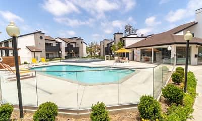 Pool, The Landing at Long Beach, 1