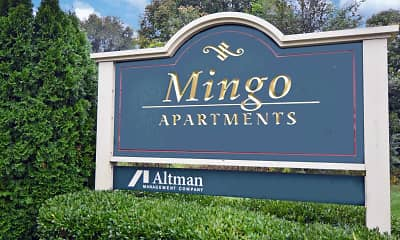 Community Signage, Mingo Apartments, 0