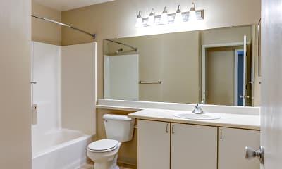 Bathroom, River Oaks Apartments, 2