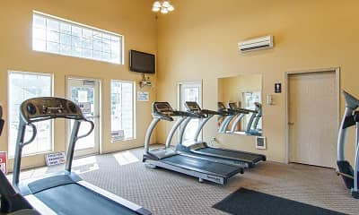 Fitness Weight Room, Fox Hollow, 2