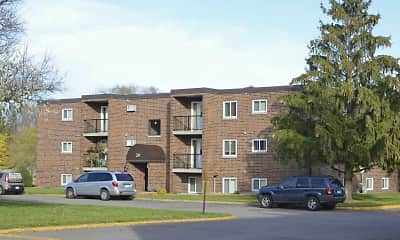 Building, Hillside Apartments, 1