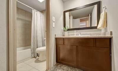 Bathroom, Cottages at Hefner Road, 2