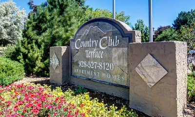 Community Signage, Country Club Terrace, 1