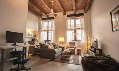 Living Room, The Brake House Lofts, 1