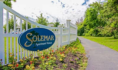Community Signage, Solemar at South Dartmouth, 2