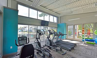 Fitness Weight Room, The Whitney, 2