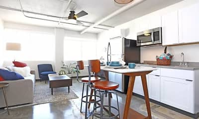 Kitchen, Loft 205, 0