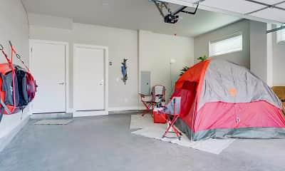 Bedroom, Dayton Station Townhomes, 2