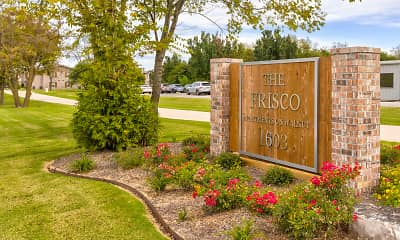 Community Signage, The Frisco Apartments, 0