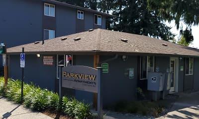 Community Signage, Parkview, 1