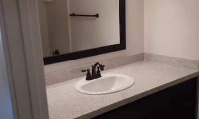 Bathroom, Creek Bend Apartments, 2