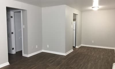 Living Room, The Flats at the Pike, 0