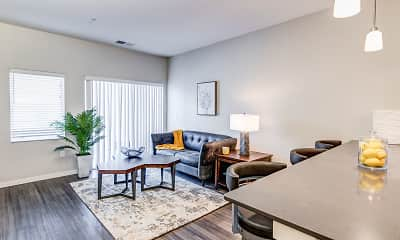 Living Room, Aster Meadow Apartments, 1