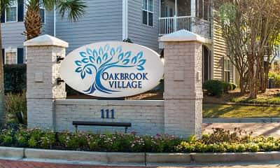 Community Signage, Oakbrook Village, 2