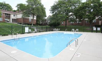 Pool, Morningside Hills Apartments, 1