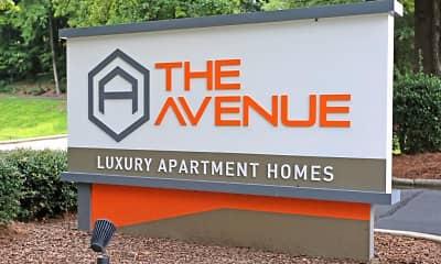 Community Signage, The Avenue Apartments, 0