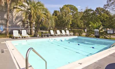 Pool, Tillman Park Apartments, 2