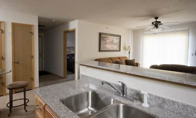 Kitchen, Oak Court Place, 1