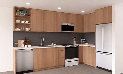 Kitchen, Alta Arlo, 0