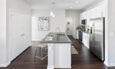 Kitchen, Sea Sound Apartments, 1