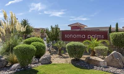 Community Signage, Sonoma Palms, 0