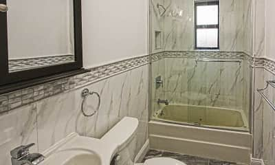 Bathroom, North Terrace Apartments, 2