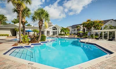 Pool, West Port Colony Apartments, 0