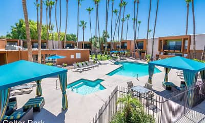 Pool, Colter Park Apartments, 0