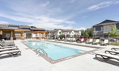 Pool, Willow Point Townhomes, 1