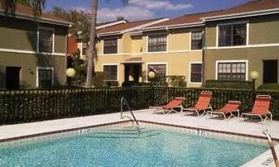 Pool, Pineview Apartments, 1