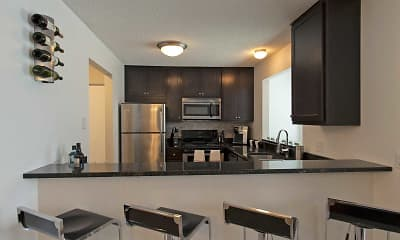Kitchen, Devonshire Apartments, 1