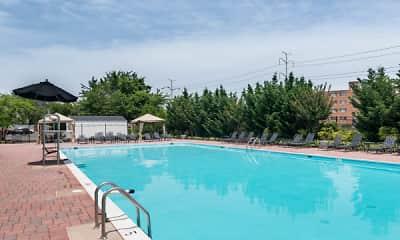 Pool, Eaton Square at Arlington Ridge, 1