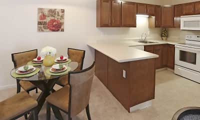 Dining Room, Transit Pointe Senior Apartments, 0