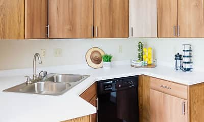 Kitchen, Mequon Trail Townhomes, 1
