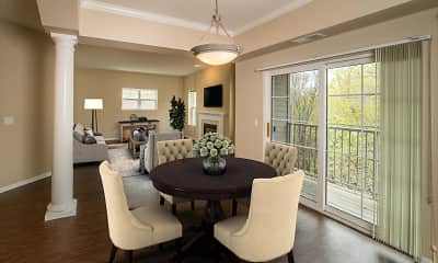 Dining Room, Lake Hazeltine Woods, 1