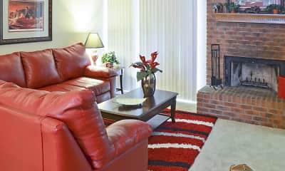 Living Room, Aspen Village, 2
