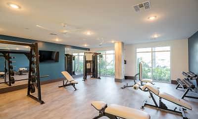 Fitness Weight Room, Botanic at Ingleside, 2