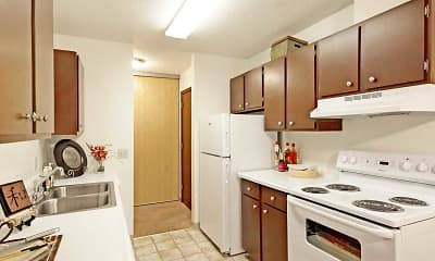 Kitchen, Bradley House Apartments, 1