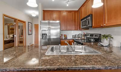 Kitchen, Granite Shores, 1