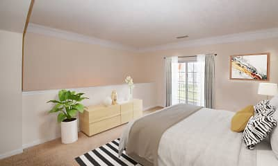 Bedroom, The Falls At Settlers Walk, 1