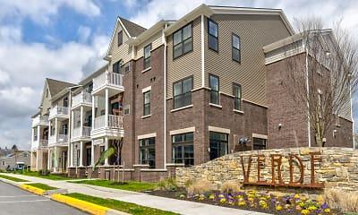 Building, Verde Apartments, 1